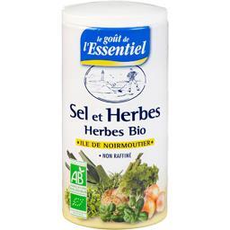 Sel et herbes bio île de Noirmoutier