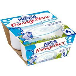 P'tit Onctueux - Fromage blanc saveur nature sucré, ...