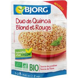 Bjorg Duo de quinoa blond et rouge BIO le sachet de 220 g
