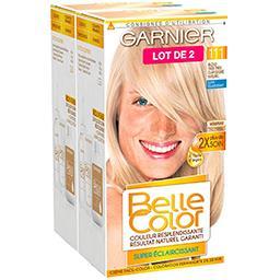 Belle Color blond très très clair doré naturel, coloration permanente