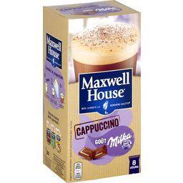 Maxwell house Cappuccino goût Milka les 8 sticks de 22 g