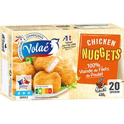 Nuggets 100% viande de filets de poulet