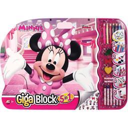 Giga Block à colorier Minnie