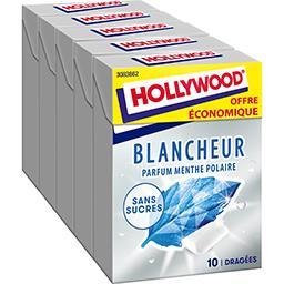 Chewing gum blancheur parfum menthe polaire sans suc...