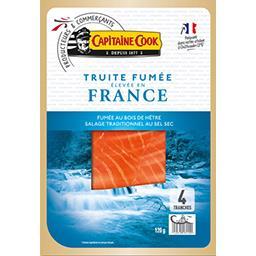 Truite fumée élevé en France