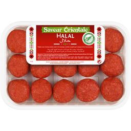 Boulettes halal saveur orientale