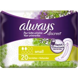 Discreet serviettes small pour fuites urinaires et i...