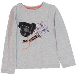 Tee-shirt gris garçon taille 5 ans