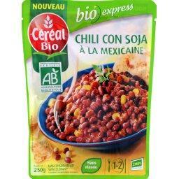 BIO Express - Chili Con Soja à la Mexicaine BIO