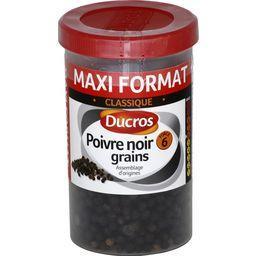 Poivre noir grains Classique force 6