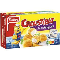 Croustibat - Petits beignets colin d'Alaska