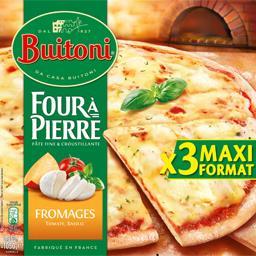 Four à Pierre - Pizzas fromages