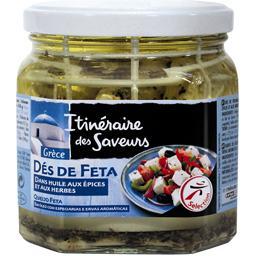 Grèce - Dés de Feta dans huile aux épices & herbes