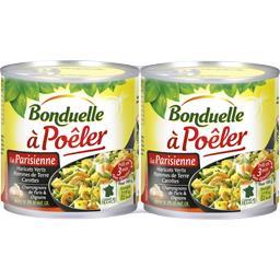Bonduelle A Poêler - La Parisienne les 2 boites de 300 g
