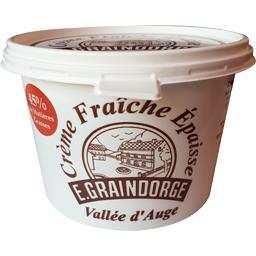 Crème fraîche épaisse Vallée d'Auge 45% MG