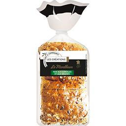 Le Moelleux pain aux céréales et aux graines