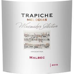Selection Malbec Mendoza, Argentine vin rouge, 2016