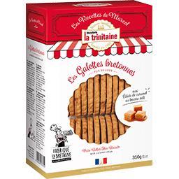 Les Galettes Bretonnes aux éclats de caramel au beurre salé