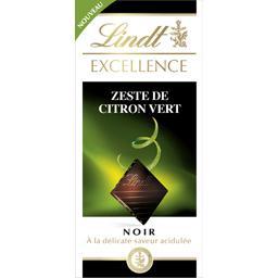 Lindt Lindt  - Chocolat noir zeste de citron vert