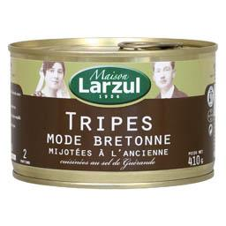 Tripes mode bretonne mijotées à l'ancienne