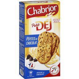 Biscuits Petit Dej pépites de chocolat