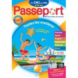Passeport du cm 1 au cm 2 - 9/10 ans