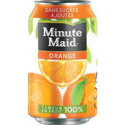 Jus d'orange, teneur en fruit 100%