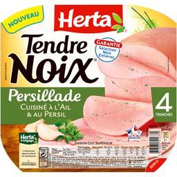 Tendre Noix - Jambon persillade cuisiné à l'ail & au persil