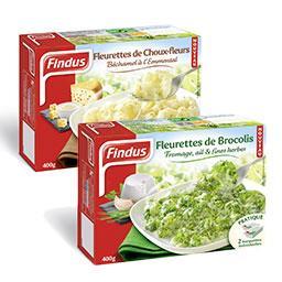 Fleurette de brocolis + fleurette de choux fleur