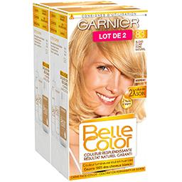Belle Color blond clair doré naturel, coloration permanente