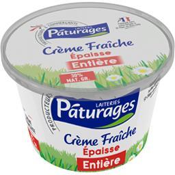 Crème fraîche épaisse entière 30%