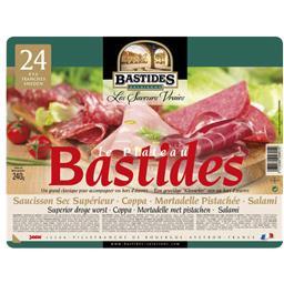 Plateau bastides, saucisson du Rouergue, mortadelle ...