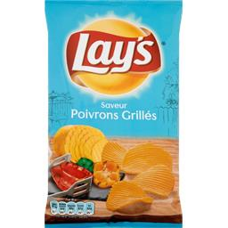 Lay's Chips saveur poivrons grillés le paquet de 120 g