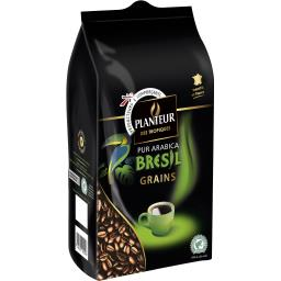 Café en grains pur arabica Brésil