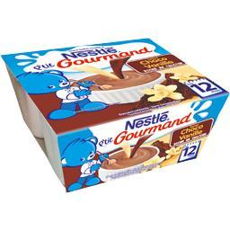 P'tit Gourmand - Dessert saveur choco vanille, dès 1...
