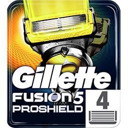 Fusion5 proshield lames de rasoir pour homme 4recha...