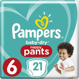 Baby-dry - pants - taille 6 15+ kg - couches-culottes