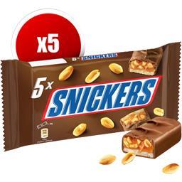 Barre chocolatée caramel cacahuètes