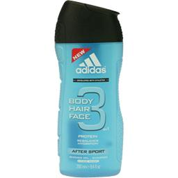 Gel douche After Sport, Body Hair Face 3 en 1