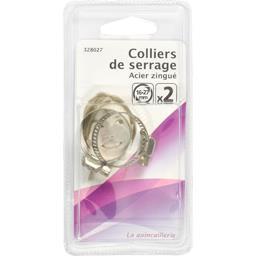 Colliers de serrage acier zingué 16-27mm