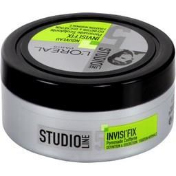 Studio Line Invisi'fix Pommade Sculptant Coiffante Cheveux 75 ml