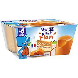 Nestlé Nestlé Bébé P'tit flan caramel, 6+ mois