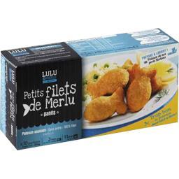 Petits filets de merlu panés