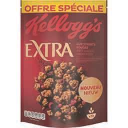 Kellogg's Extra - Céréales fruits rouges