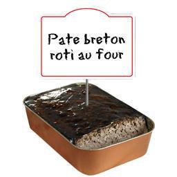 Gros pâté BRETON rôti au four