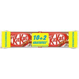 Nestlé KitKat - Barres chocolatées les 10 barres 498g