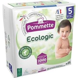 Couches Ecologic taille 5 : 11-25 kg