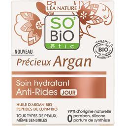 So'bio Etic Soin hydratant anti-rides jour Précieux Argan le pot de 50 ml