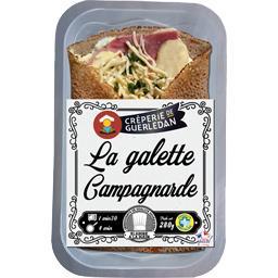 Crêperie de Guerlédan La Galette campagnarde la barquette de 280 g
