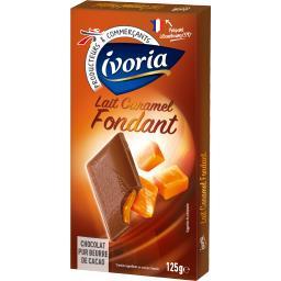 Chocolat lait caramel fondant